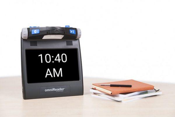 OmniReader clock function