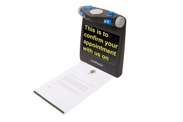 OmniReader reading document