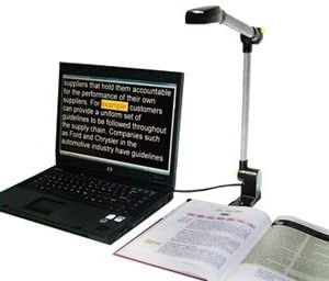 PEARL Portable Reading Camera
