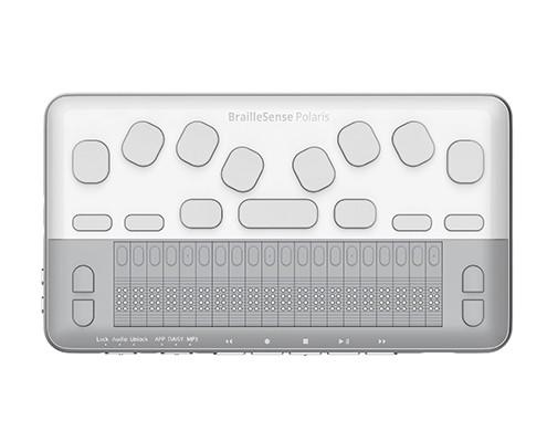 BrailleSense Polaris Mini front