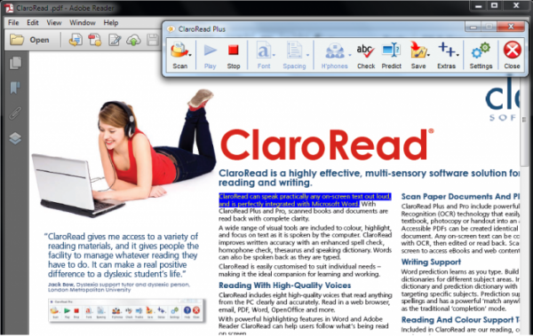 Claro Read Plus PC