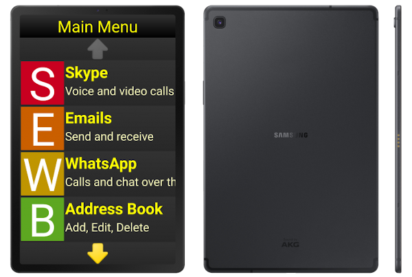 Synapptic Gold Tablet front and back