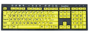 ZoomText Keyboard version 4