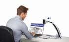 Transformer HD man at desk